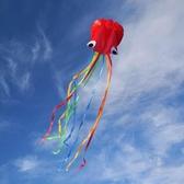 濰坊軟體章魚風箏新款大型高檔成人軟體八爪魚微風易飛初學者兒童滿天星