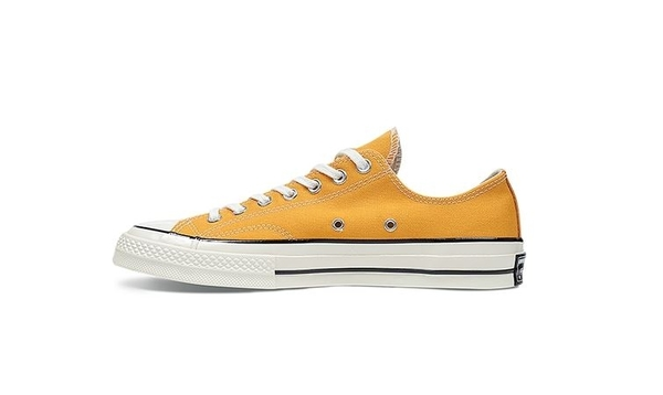 CONVERSE-男女款復古芥末黃休閒鞋-NO.162063C