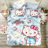 標準雙人床包組 迪士尼床包 KT床包 夢想 卡通床包 公主床包 hello kitty 床包訂製 三立歐授權