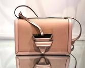 ■現貨在台■ 專櫃66折■ Loewe Barcelona 中型粒面小牛皮巴塞隆納包 裸粉色