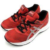 《7+1童鞋》大童 ASICS 亞瑟士 CONTEND 5 GS 透氣網布 運動鞋 慢跑鞋 5180 紅色