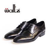 Waltz-經典復古雕花德比鞋212169-02(黑)