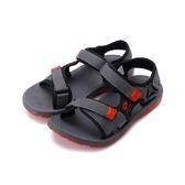 LOTTO 流行織帶涼鞋 紅 LT8AKS6188 大童鞋 鞋全家福