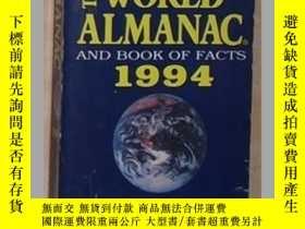 二手書博民逛書店英文原版罕見The World Almanac and Book