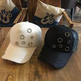 帽子女百搭春夏天季鑲鑚棒球帽新款韓版鴨