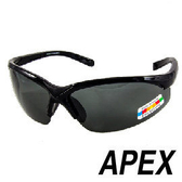 APEX 908偏光眼鏡-黑 戶外 自行車