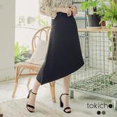東京著衣-tokichoi-簡約優雅不規則長裙-S.M.L(190227)