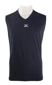 【陽光樂活】 MIZUNO 美津濃 運動專用無袖緊身衣 12TA5C1614 深丈青