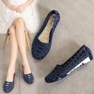 2020新款時裝涼鞋女夏平底鞋包頭洞洞鞋塑膠軟底果凍鞋韓版沙灘鞋