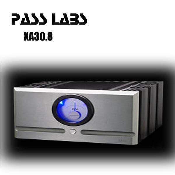 【新竹音響勝豐群】美國PASS XA30.8 立體聲後級擴大機  內外皆美的聲音藝術品!