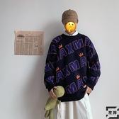 情侶毛衣男裝冬季加大碼寬松胖子慵懶風上衣【左岸男裝】
