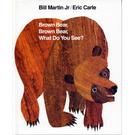 『輕鬆聽出英語力--第1週』『繪本123』--BROWN BEAR, BROWN BEAR WHAT DO YOU SEE ? /硬頁書+CD
