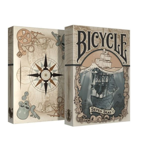 【USPCC 撲克】Bicycle Seven Seas Playing Cards