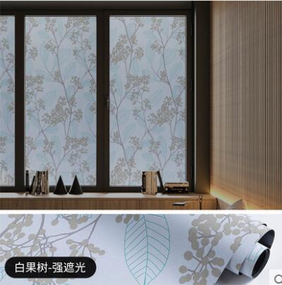 窗戶貼紙 玻璃貼紙防窺視全遮光神器防走光不透光遮陽隔熱防曬避光窗戶貼膜 科炫數位