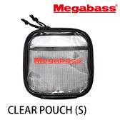 漁拓釣具 MEGABASS CLEAR POUCH 透明收納袋#S