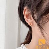 耳環潮溫柔感夏款耳釘氣質無耳洞耳夾女【慢客生活】