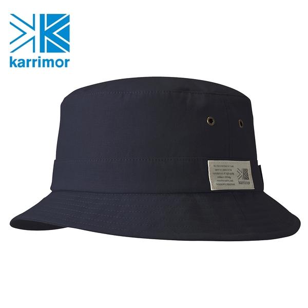 日系[ Karrimor ] grab hat 抗UV防潑水漁夫帽 海軍藍