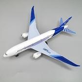 飛機模型 合金小客機兒童玩具飛機 波音777仿真回力飛機模型擺件【快速出貨八折搶購】