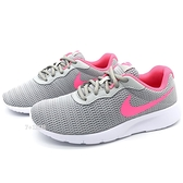 《7+1童鞋》NIKE Tanjun 優雅簡約 俐落造型 輕量 運動慢跑鞋 G869 銀灰色