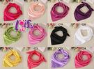 ★草魚妹★k577絲巾純色絲巾餐飲空姐圍巾絲巾領巾,售價150元