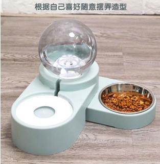 寵物餵食器 貓咪飲水機自動喂食器狗狗喝水不濕嘴貓用流動水盆不插電喂水神器