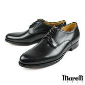 【Marelli】都會簡約手工德比鞋 黑色(M855-BL)