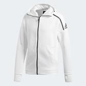 ADIDAS Z.N.E. FAST RELEASE 男裝 外套 慢跑 訓練 連帽 舒適 透氣 白【運動世界】CY9903