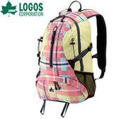 丹大戶外【LOGOS】日本CADVEL-Design20愛麗絲格紋休閒後背包20L/減壓肩背包/88250085