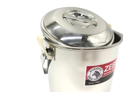 【好市吉居家生活】斑馬牌 ZEBRA 151616 新型提鍋 16CM 不銹鋼鍋 便當盒 湯鍋 料理鍋