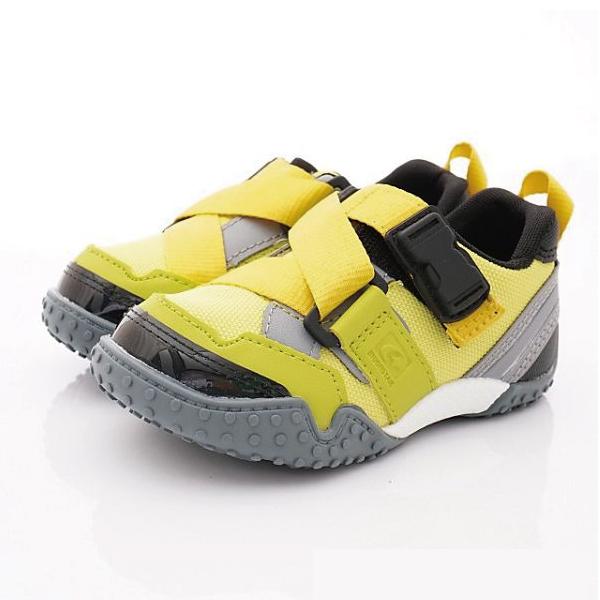 日本 MOONSTAR Carrot機能童鞋 腳踏車鞋-公園玩耍速乾款-螢光綠(15-17cm)