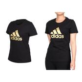 ADIDAS 女短袖T恤(慢跑 短袖上衣 愛迪達 免運 ≡排汗專家≡