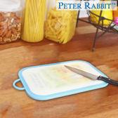 【クロワッサン科羅沙】Peter Rabbit~ 經典比得兔圓角抗菌砧板(S)藍NF-212048