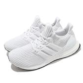 adidas 慢跑鞋 Ultra Boost 4.0 DNA 白 全白 男鞋 女鞋 Boost 頂級緩震舒適 運動鞋 【ACS】 FY9120