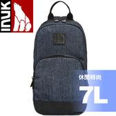 【INUK 加拿大 7L休閒時尚單肩包《海神藍》】IKB50615185034/後背包/背包★滿額送