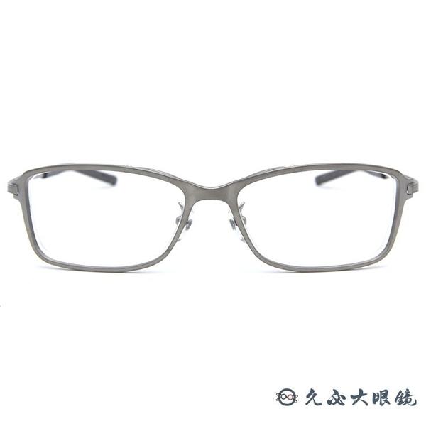 999.9 日本神級眼鏡 S-825T 4 (銀) 復古方框 近視眼鏡 久必大眼鏡