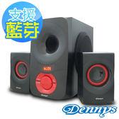 Dennys USB/SD/FM藍芽重低音2.1喇叭(PYC829-MF35)