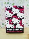 【震撼精品百貨】Hello Kitty 凱蒂貓~撲克牌-滿版大頭圖案-紅色