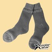 【PolarStar】羊毛保暖雪襪『炭灰』P18609 露營.戶外.登山.保暖襪.彈性襪.休閒襪.長筒襪.襪子
