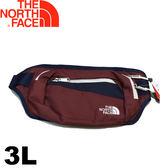 【The North Face 美國 3L 多功能腰包《紅/深藍》】2UCX/運動腰包/隨身包/戶外健走★滿額送