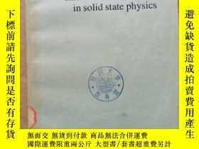 二手書博民逛書店microwave罕見ultrasonics in solid state physics(P736)Y173