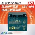 【久大電池】 神戶電池 CSB EVX12400 品質壽命超越 REC50-12 WP50-12NE TEV12500