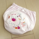 GMP BABY RODY 寶寶超吸排純棉紗學習褲-粉紅