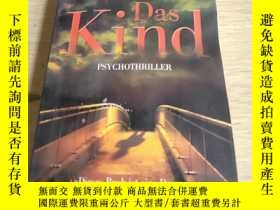 二手書博民逛書店德語原版暢銷小說罕見Das Kind von Sebastian