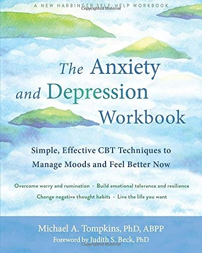 [2美國直購] Amazon 2021 暢銷排行榜 The Anxiety and Depression Workbook