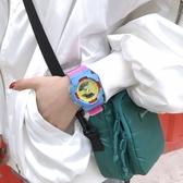電子手錶女學生韓版簡約潮流 ulzzang夜光防水休閒潮男運動大表盤 限時85折