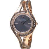 施華洛世奇SWAROVSKI耀眼流線時尚腕錶  5377551