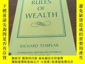 二手書博民逛書店The罕見Rules of WealthY314746 Rlch