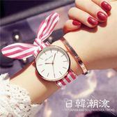 手錶 森女系 綁帶手表女 復古文藝森女學生韓版時尚簡約日系小清新布表