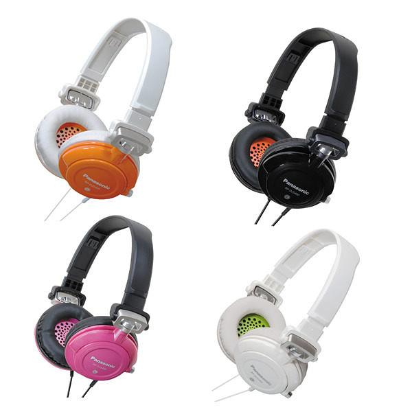Panasonic RP-DJS400 (贈收納袋) 街頭時尚,重低音DJ耳罩可折式耳機