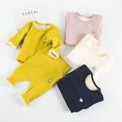 限定款鋪棉套裝 嬰兒保暖套裝秋冬女高腰護肚裝 0-1-2-3歲棉質男寶寶內刷毛內衣睡衣